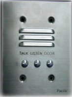 pacific apartment intercom 2401vr pacific electronics intercom<br>vandal resistant station 4 wire
