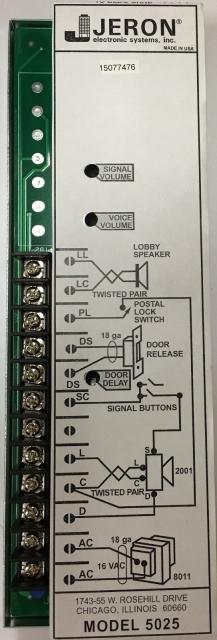 Jeron Intercom Wiring Diagram from www.commercialintercoms.com