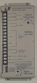 AF1000_148x333 auth florence apartment intercom control amplifiers pacific 3406 wiring diagram at edmiracle.co