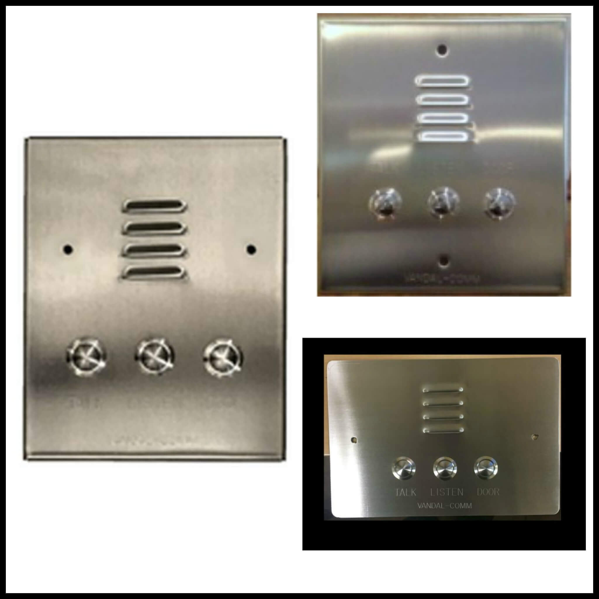 Apartment Intercom Systems Entry Jeron Wiring Diagram Stainless Steel Stations