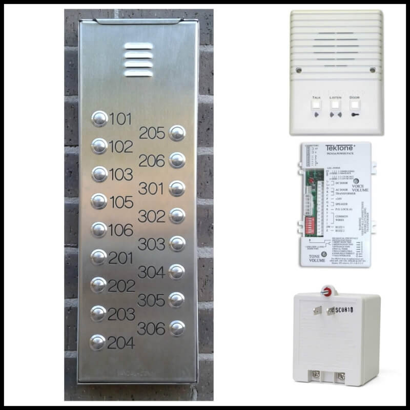 Apartment Intercom Systems Entry Intercom Systems